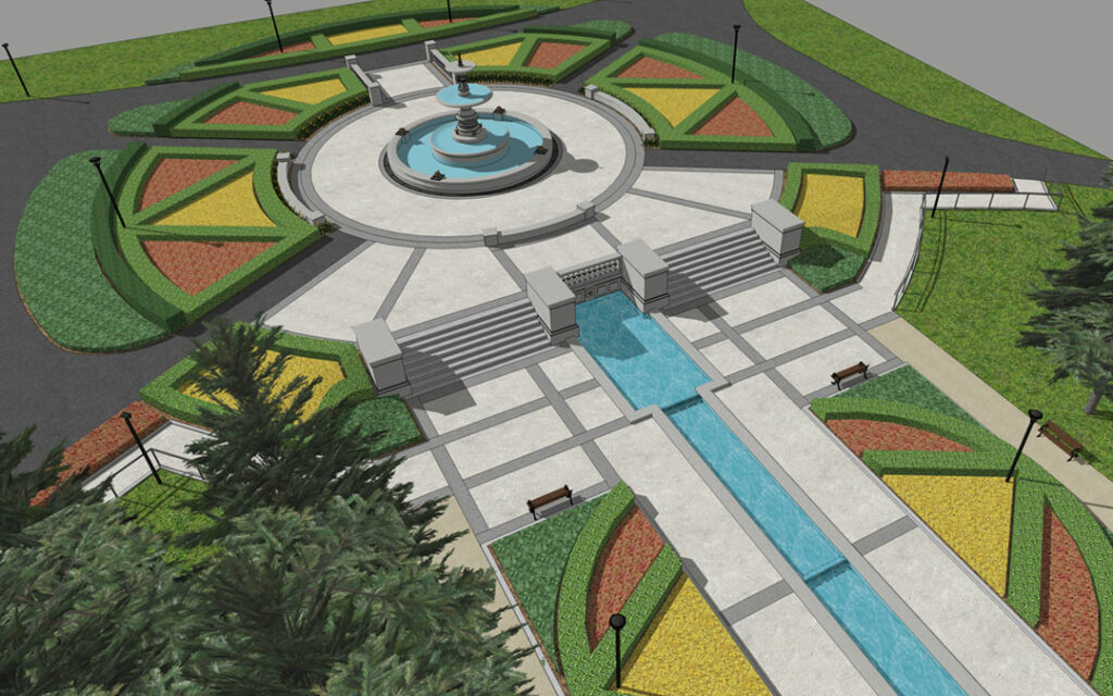 Gage Park Fountain Terrace Redevelopment