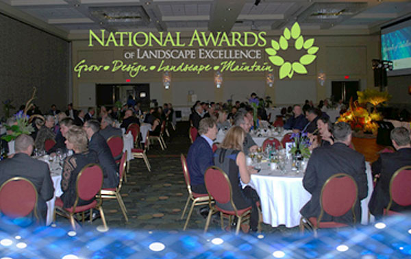 Winners of the 2013 Canadian Nursery Landscape Association (CNLA) were announced at the 11th annual CNLA National Awards of Landscape Excellence ceremony in St. John's, NL on Wednesday, January 29, 2014. Landscape Newfoundland and Labrador hosted the event in conjunction with its provincial Awards of Landscape Excellence. It was a fun evening with members, staff, volunteers and other distinguished guests gathered to celebrate the best in the industry.  The National Awards of Landscape Excellence
