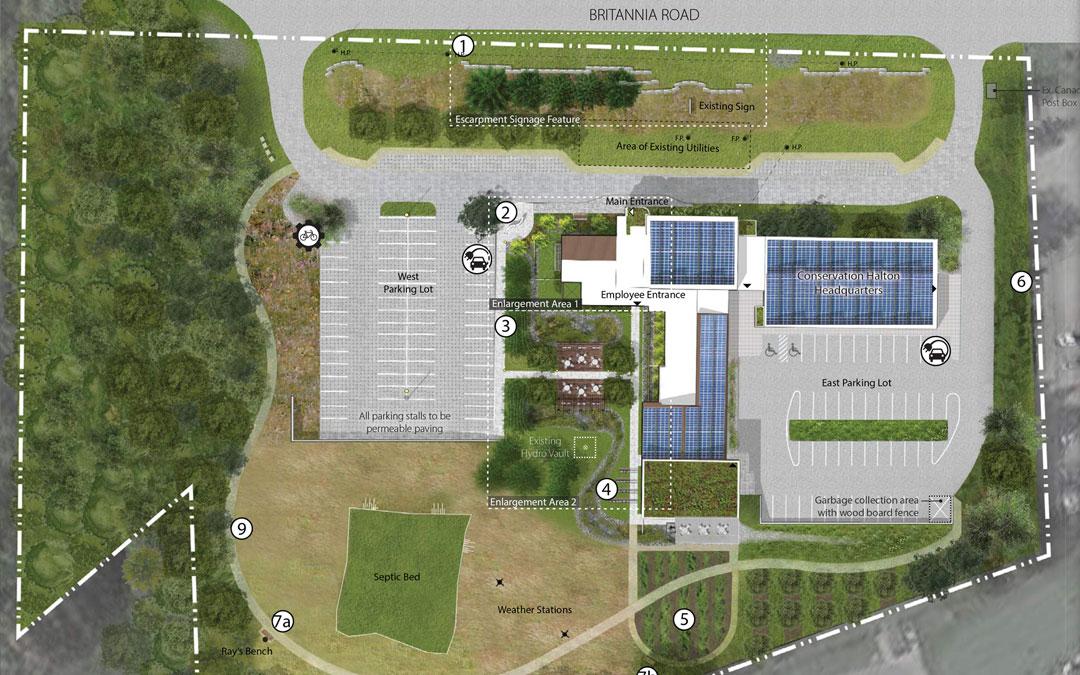 Conservation Halton Administration Building Master Plan