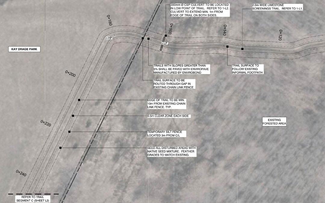 Kay Drage Park Functional Trail Design Plan
