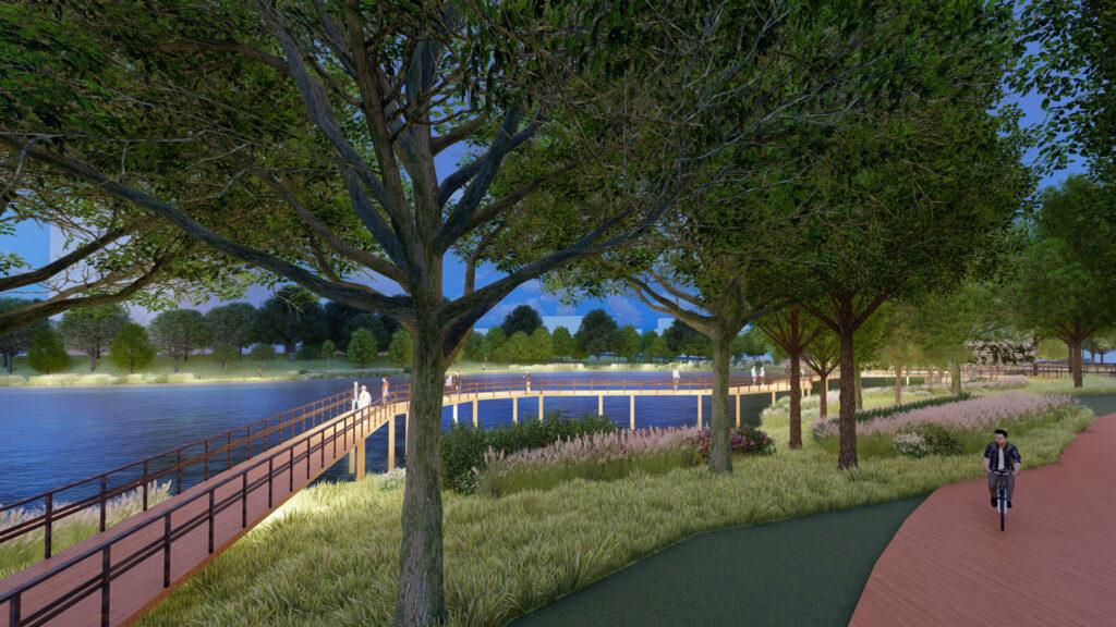 3D Rendering of Waterloo park