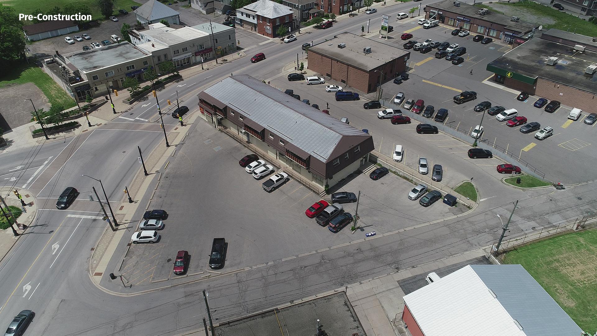 Pre-Construction of Smithville Square Parkette