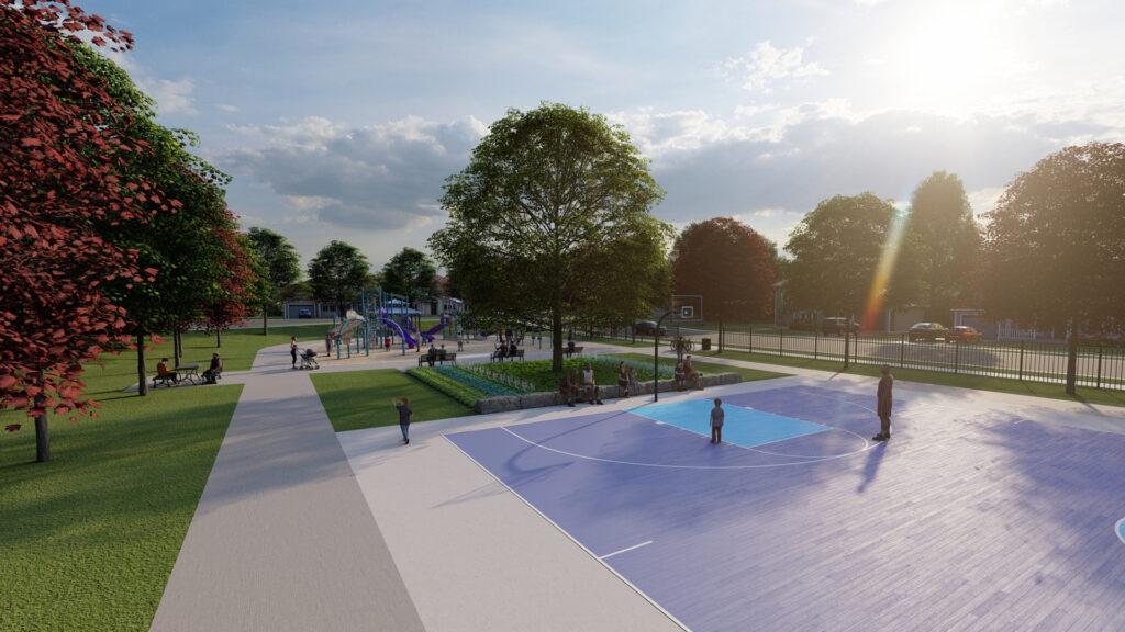 3D Rendering Hixon Park