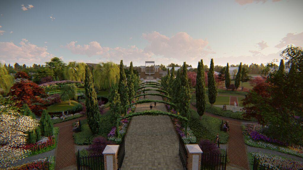 """Concept Design of Pillar & Post """"The Gardens"""""""