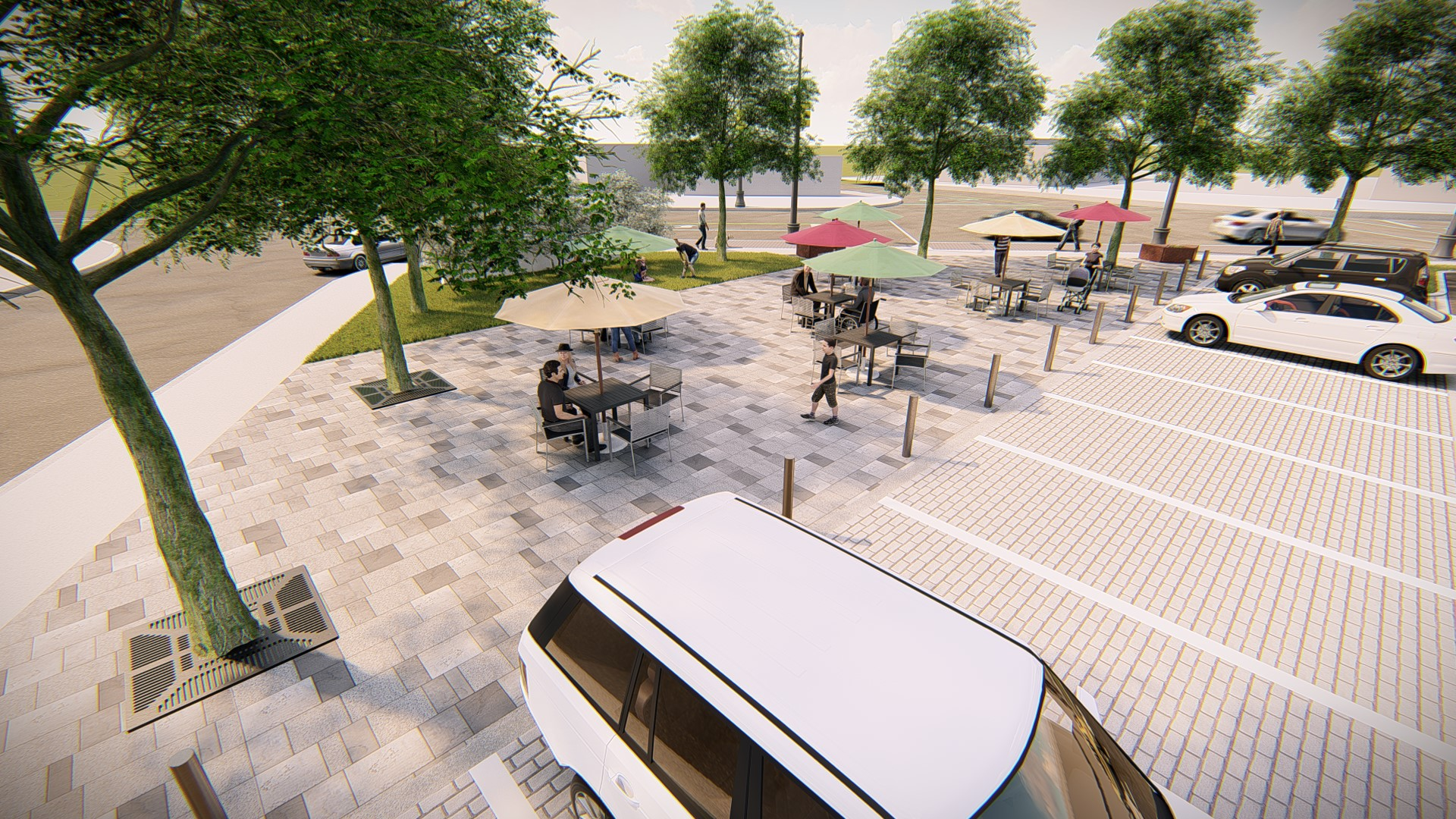smithville square parkette rendering
