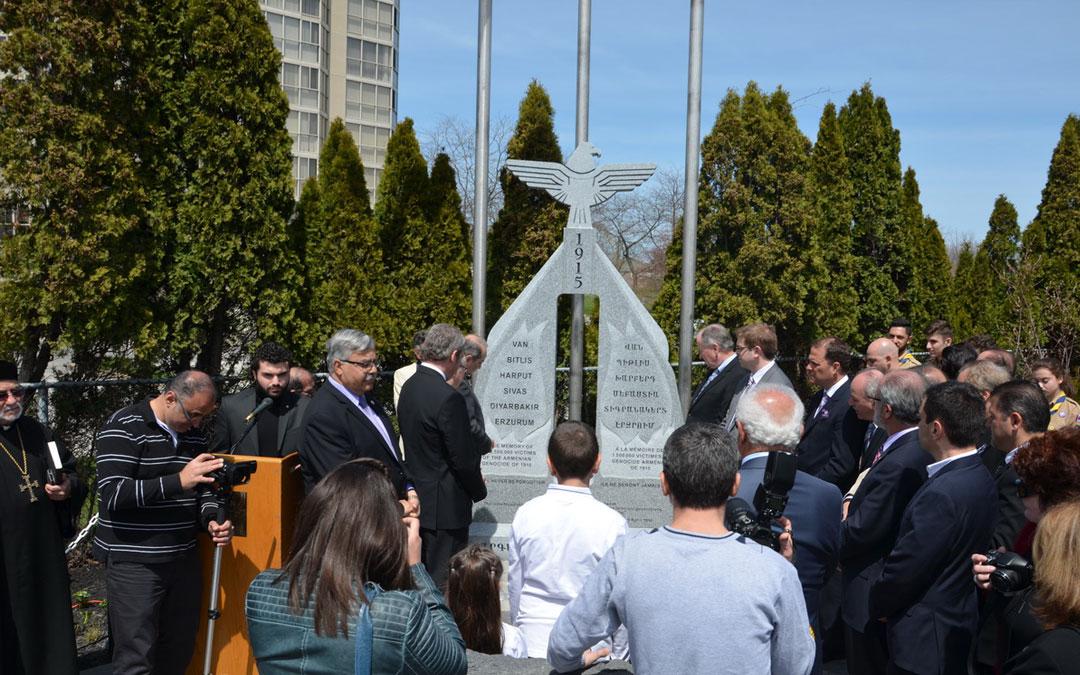 Armenian Genocide Memorial unveiled