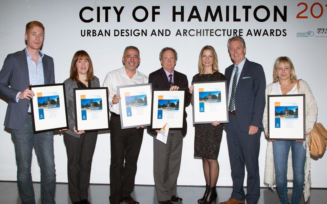 SDG Receives Award of Excellence in Heritage Restoration - Gage Park