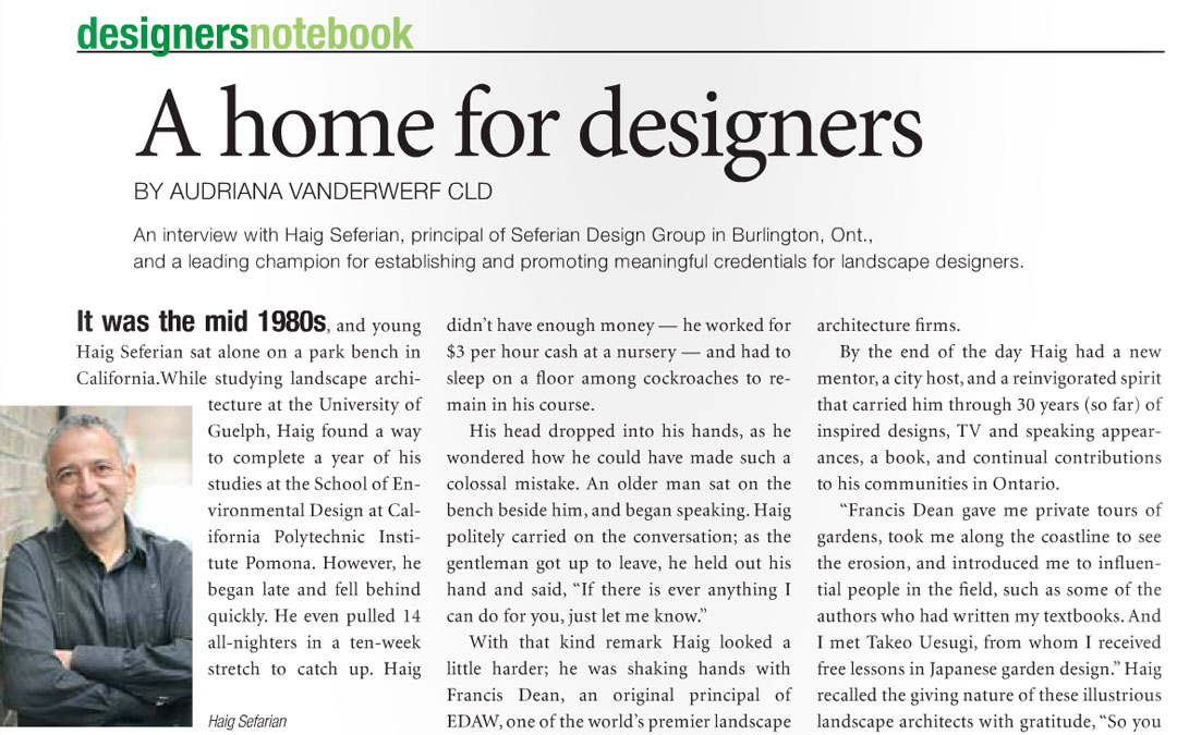 A Home for Designers