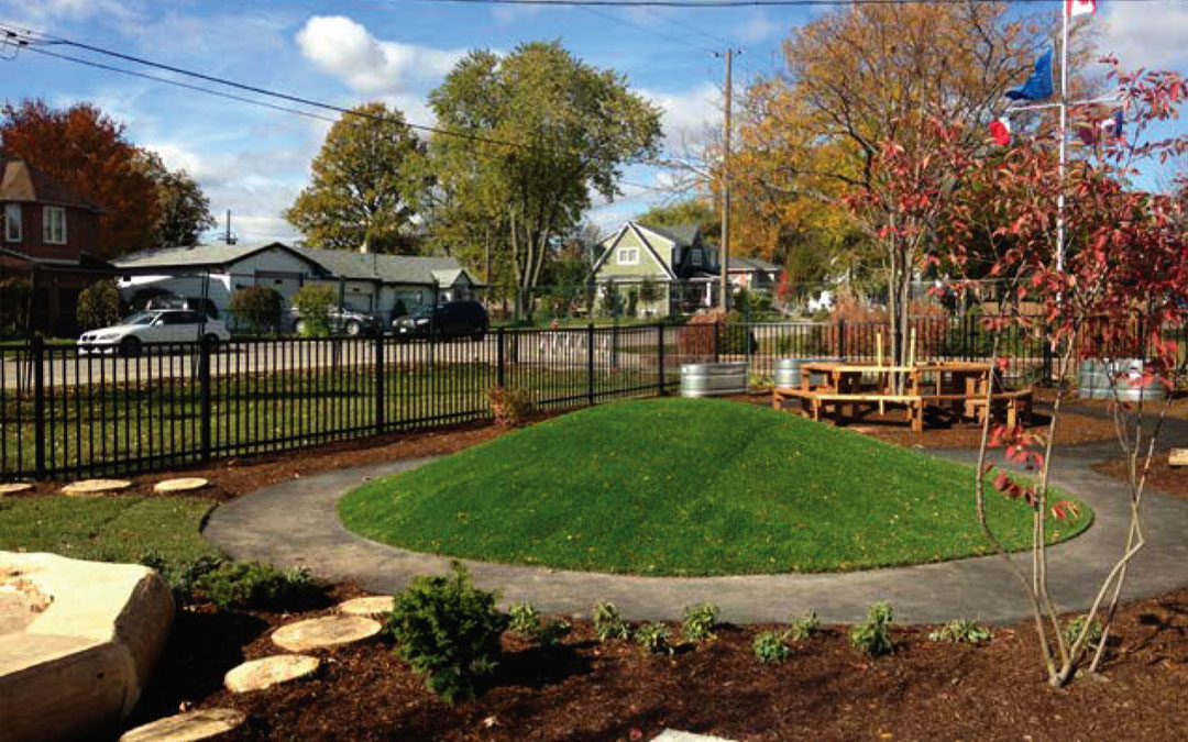Toronto French School Naturalization Project